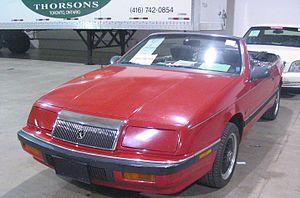Chrysler lebaron wikipdia 88 chrysler lebaron toronto spring 12 classic car auction fandeluxe Image collections