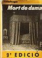 'Mort de dama', 9a edició.JPG
