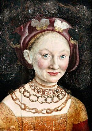 Child marriage - Child marriages were common in history. Princess Emilia of Saxony in 1533, at age 16 married George the Pious, Margrave of Brandenburg-Ansbach, then aged 48 years.