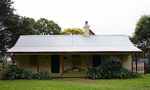 St Thomas Rest Park - Sexton's Cottage Museum