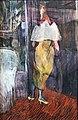 (Albi) Femme en toilette de bal à l'entrée d'une loge de théâtre 1894 - Toulouse-Lautrec MTL.165.jpg