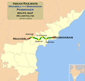(Macherla - Bhimavaram) Passenger route map.png