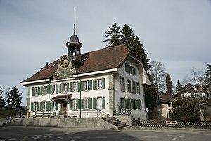 Montpreveyres - Image: École Montpreveyres 28.02.2012