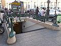 Édicule Guimard de la station Gare du Nord, 9 boulevard de Denain, 75010 Paris.JPG