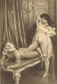 Domination et flagellation pour une femme soumise et marie