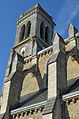 Église Saint-Benoît (clocher vue latérale) - Aizenay (Vendée).jpg