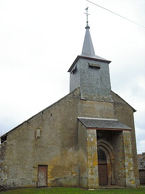 Alluy - The church of Saint-Pierre and Saint-Paul, in Alluy