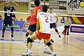 Óscar Rodríguez y Sergio Noda - Bilateral España-Portugal de voleibol - 01.jpg