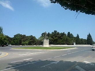 Imadaddin Nasimi - Nasimi park in Sumgait