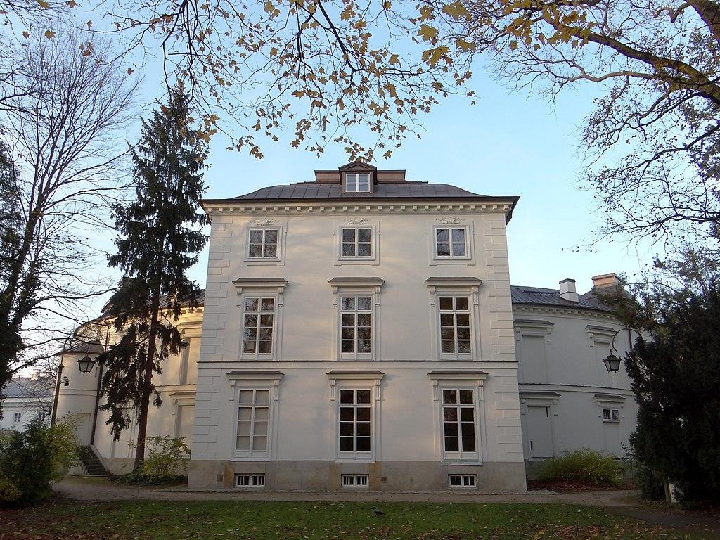 Filełazienki Pałac Myślewicki 10jpg Wikimedia Commons