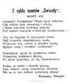 Życie. 1898, nr 06 (5 II) page01 Przerwa-Tetmajer.png