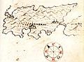 Χάρτης της νήσου Κρες (Κροατία) - Millo Antonio - 1582-1591.jpg