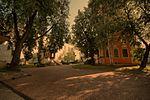 Ансамбль андреевского монастыря - первое провославное учереждение Москвы основанное в 1648 году боярином Ф.М. Ртищевым - panoramio.jpg
