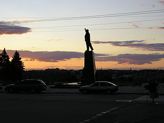 Monument to Lenin in Zaporizhzhya