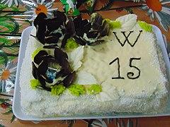 Київський домашній торт для учасників Вікімарафону 2019 в Ромнах.jpg