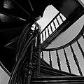 Марьино Дворец Интерьер Винтовая лестница (фото 10) Рыльский район 2019.jpg