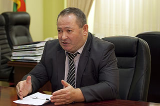 Mikhail Burla Transnistrian politician