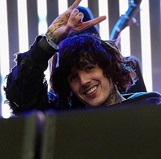 Oliver Sykes - Sykes in 2015