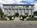 Парк пред зградата на Општина Кривогаштани.jpg