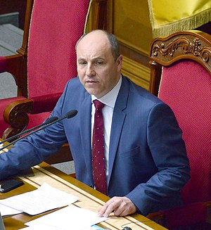 Andriy Parubiy - Andriy Parubiy in April 2016