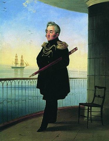 И.К.Айвазовский. Портрет вице-адмирала М.П.Лазарева. 1839 год