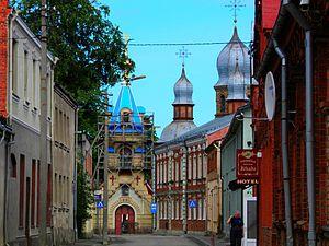 Jēkabpils - Image: Православная церковь (2)