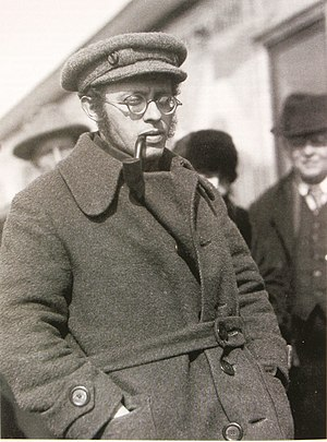 Karl Radek - Karl Berngardovich Radek on the streets of Moscow