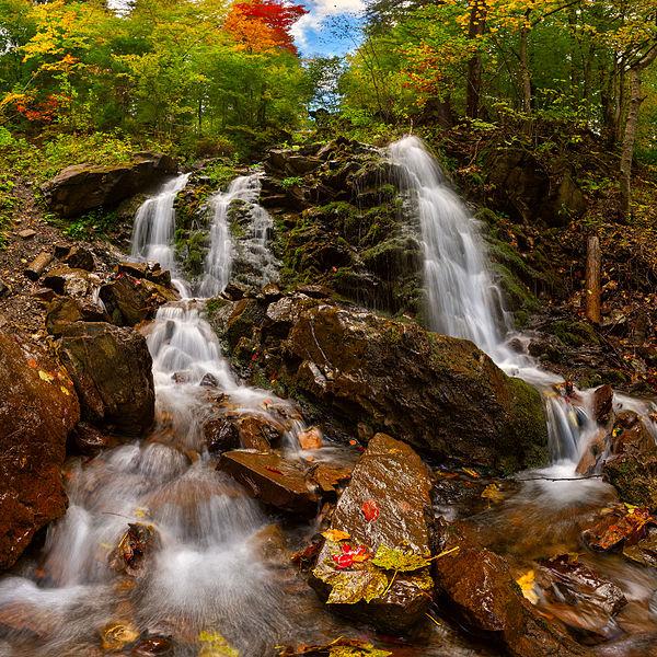Водоспад Трофанець, © Дмитро Балховітін, CC-BY-SA 3.0