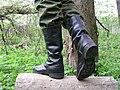 Юфтевые кожаные сапоги.JPG