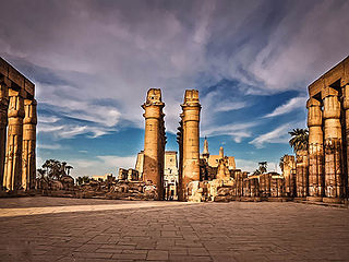 Luxor City in Egypt