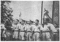 夏令營主任康澤陪同團長蔣中正檢閱受訓學生并逐一點名2.jpg