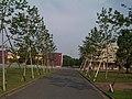 東京情報大学・中央広場より南東方面を望む - panoramio.jpg