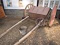 -2019-11-16 A night soil cart (Honey cart), Hillside Norfolk Shire Horse Centre, West Runton.JPG