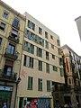 002 Edifici al carrer del Carme, 55-57 - carrer d'en Roig, 28-38 (Barcelona), façana del c. del Carme.jpg