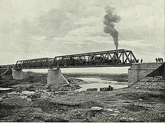 Yaysky District - Great Siberian Railroad, 1899, in Yaya District