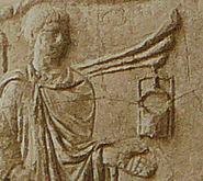 058 Conrad Cichorius, Die Reliefs der Traianssäule, Tafel LVIII (Ausschnitt 01)