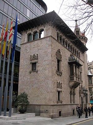 Rambla de Catalunya - Casa Serra