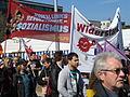 1. Mai 2013 in Hannover. Gute Arbeit. Sichere Rente. Soziales Europa. Umzug vom Freizeitheim Linden zum Klagesmarkt. Menschen und Aktivitäten (195).jpg