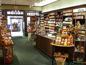 Yankee Candle - Interior of the Yankee Candle store in the Newport Center Mall in Jersey City, New Jersey.