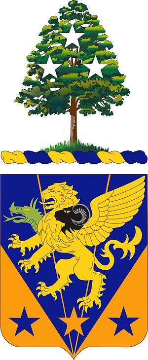 107th Aviation Regiment (United States) - Unit crest