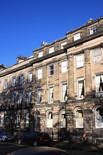 Thomas Buchanan (Liberal politician) - Buchanan's Edinburgh house at 10 Moray Place