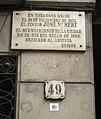 116 Aquí nasqué Josep M. Sert, c. Sant Pere Més Alt.JPG