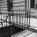 13. DETAIL, IRON STAIR RAILING, STREET LEVEL TO GROUND FLOOR LEVEL.jpg