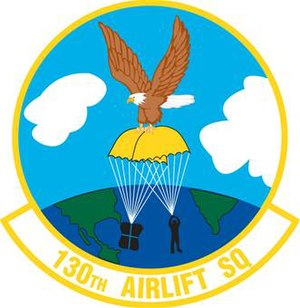 130th Airlift Squadron - Image: 130th Airlift Squadron emblem