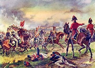 "13th Hussars - The 13th Light Dragoons at Waterloo 1815. Lord Hill - ""Drive them back 13th"""