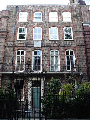 Cecil Gordon Lawson - 15 Cheyne Walk, Chelsea, London, where Lawson once lived