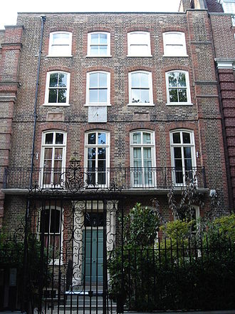 Henry Thomas Ryall - 15 Cheyne Walk, Chelsea, London, where Ryall once lived