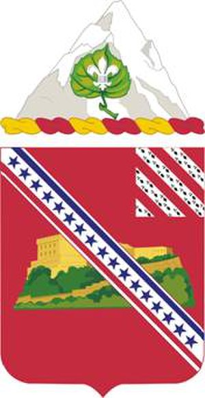 17th Field Artillery Regiment - Coat of arms