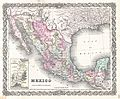 1855 Colton Map of Mexico - Geographicus - Mexico-colton-1855.jpg