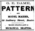1873 Dame SudburySt BostonDirectory.png